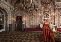 Audienz im Schloss